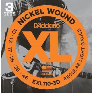 Corzi Chitara Electrica Daddario EXL110 3D