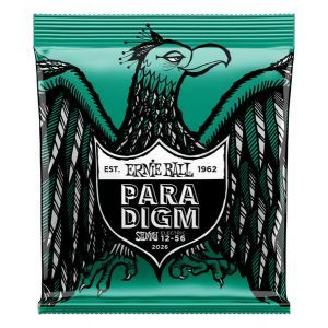Corzi chitara electrica Ernie Ball Paradigm Not Even Slinky 12-56