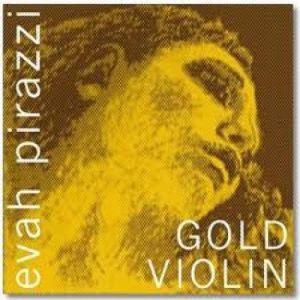 Corzi vioara Pirastro Evah Pirazzi Gold Sol Aurit