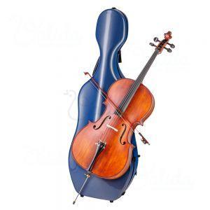 Cutie carbon violoncel Valida V500C Blue