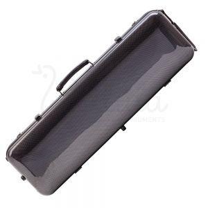Cutie fibra de sticla vioara Valida V510 Grey