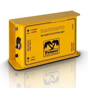 Reamp box Palmer MI Daccapo Re amp