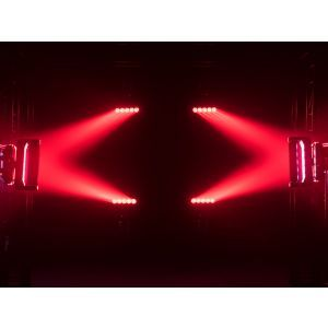 EUROLITE Set 4x LED TMH-X Bar 5 Beam + Case