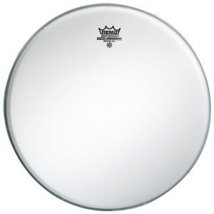 Fata Toba Remo Ambassador White Coated Bass Drum 18
