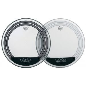 Fata Toba Remo Powersonic Clear Bass Drum 20