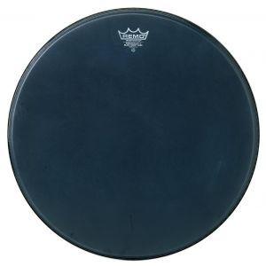 Fata Toba Remo Powerstroke Black Suede Bass Drum 22
