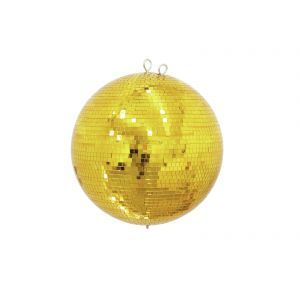 Glob de oglinzi Eurolite 40cm auriu