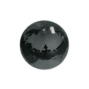 Glob de oglinzi Eurolite 50cm negru