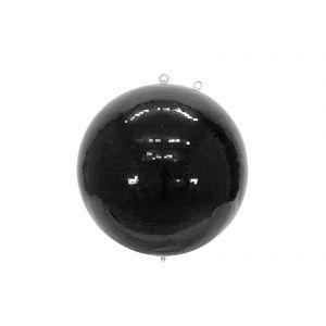 Glob de oglinzi Eurolite 75cm negru