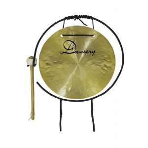 Gong Dimavery 25cm cu stativ si maleta