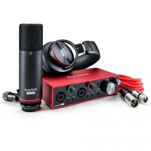 Interfata audio Focusrite Scarlett 2i2 Studio Pack 3rd Gen