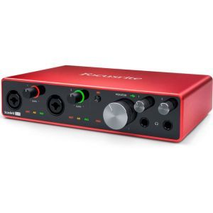 Interfata audio Focusrite Scarlett 8i6 3rd Gen