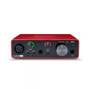 Interfata audio Focusrite Scarlett Solo 3rd Gen