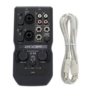Interfata Audio Zoom U-24