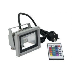 LED IP FL-10 COB RGB 120° RC