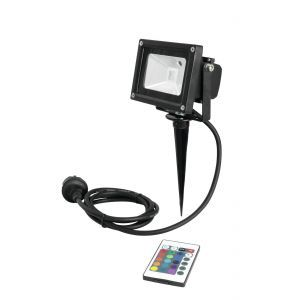 Proiector Eurolite LED IP FL-10 COB RGB IR + stake