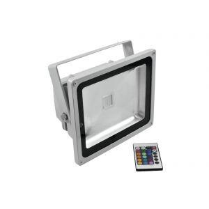 LED IP FL-30 COB RGB 120° RC