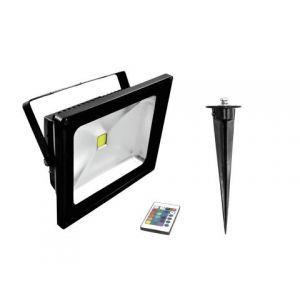 LED IP FL-30 COB RGB IR + stake