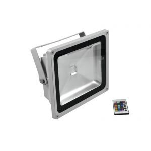 LED IP FL-50 COB RGB 120° RC