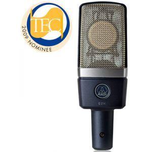 Microfon cu fir AKG C 214
