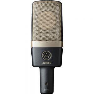 Microfon cu fir AKG C314