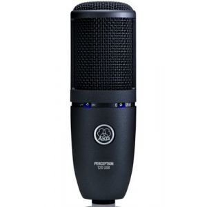 Microfon cu fir AKG Perception 120 USB