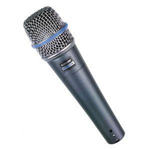 Microfon cu fir Shure Beta 57A
