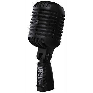 Microfon cu Fir Shure Super 55 Pitch Black Limited Edition