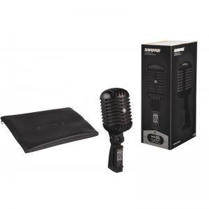 Microfon cu Fir Shure Super 55 Pitch Black Limited Edition