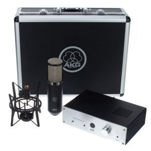 Microfon de studio AKG Perception 820 Tube B