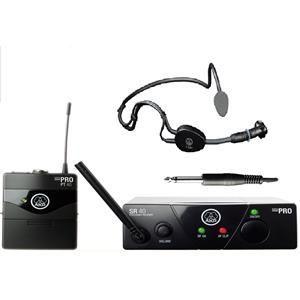 Microfon fara fir AKG Wireless WMS40 cu microfon AKG C 544 L