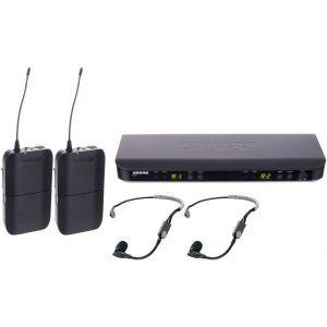 Microfon fara fir Shure BLX188E/SM35 Combo Q25