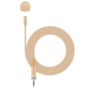 Microfon lavaliera cu fir Sennheiser MKE ESSENTIAL OMNI-BEIGE