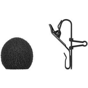 Microfon lavaliera cu fir Sennheiser MKE ESSENTIAL OMNI-BLACK-3-PIN