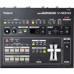 Mixer video Roland V 40 HD Multi Format Switcher