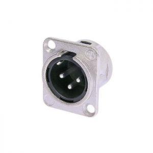 XLR Panou 3 poli Neutrik NC3MD-L-1