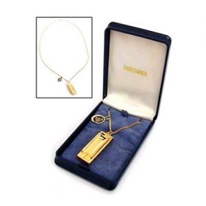 Muzicuta Hohner Little Lady Necklace (gold Plated)