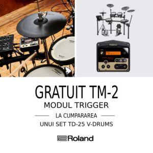 Campanie promoțională Roland TD-25/TM-2