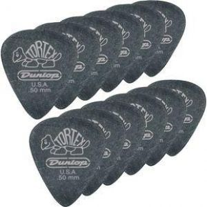 Pana chitara Dunlop Tortex Pitch Black Standard