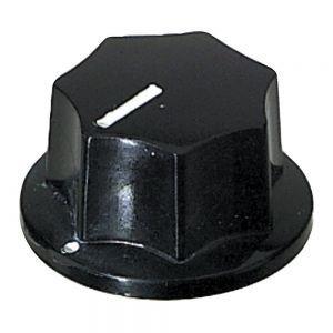 Partsland Buton potentiometru negru, mare