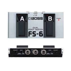 Pedala Dual Footswitch Boss Fs-6