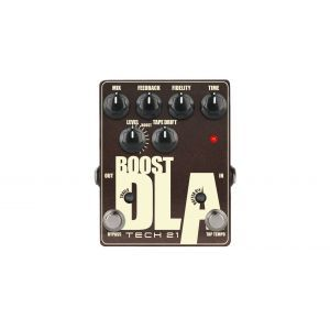 Pedala efect chitara Tech 21 Boost D.I.A Tap Tempo