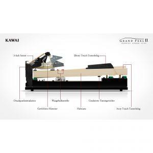 Pian Digital Kawai CA-78 W