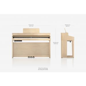 Pian Digital Roland HP 702 WH