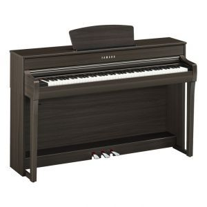Pian Digital Yamaha CLP 735 Dark Walnut