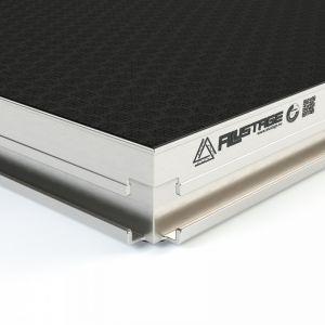 Platforma Scena Alustage AluDeck Spider 1X0.5 Aluminium