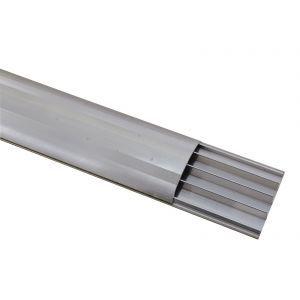 Pod pentru cabluri Eurolite Floor Cable Channel 75mm silver 2m