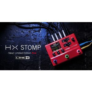 Procesor Chitara Line 6 HX Stomp RED Limited Edition