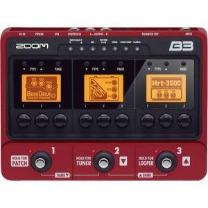 Procesor Chitara Bass Zoom B3