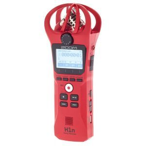 Recorder Digital Zoom H1N Red Limited Edition
